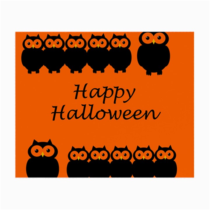 Happy Halloween - owls Small Glasses Cloth