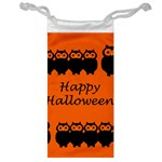 Happy Halloween - owls Jewelry Bags Front