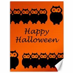 Happy Halloween - owls Canvas 36  x 48