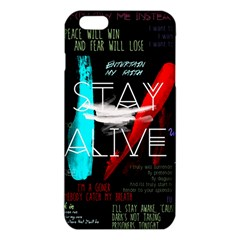 Twenty One Pilots Stay Alive Song Lyrics Quotes Iphone 6 Plus/6s Plus Tpu Case by Onesevenart