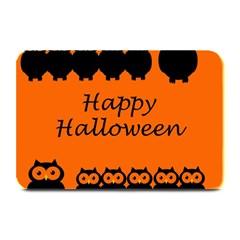 Happy Halloween - owls Plate Mats