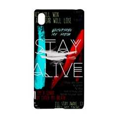 Twenty One Pilots Stay Alive Song Lyrics Quotes Sony Xperia Z3+ by Onesevenart