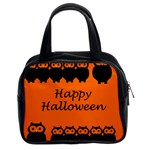 Happy Halloween - owls Classic Handbags (2 Sides) Front