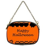 Happy Halloween - owls Chain Purses (Two Sides)  Front