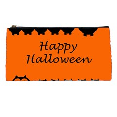 Happy Halloween   Owls Pencil Cases by Valentinaart