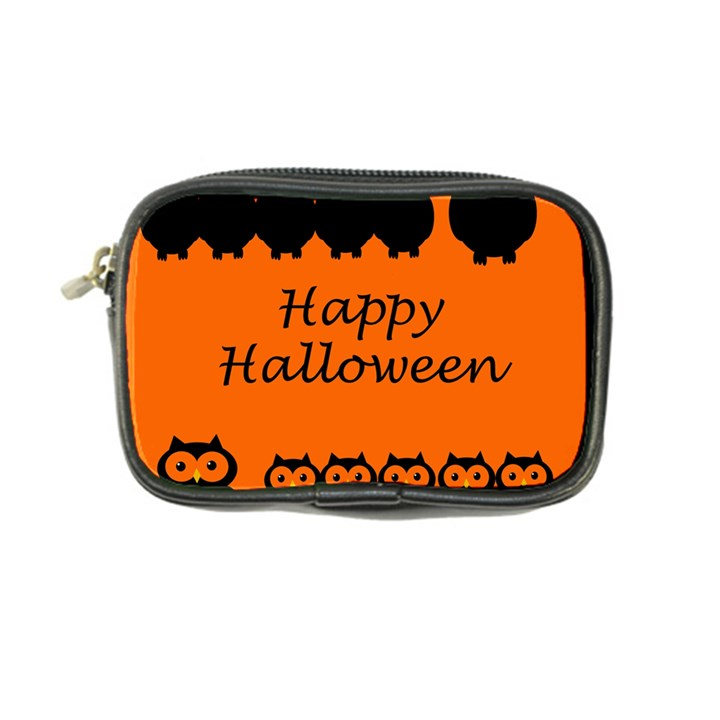Happy Halloween - owls Coin Purse