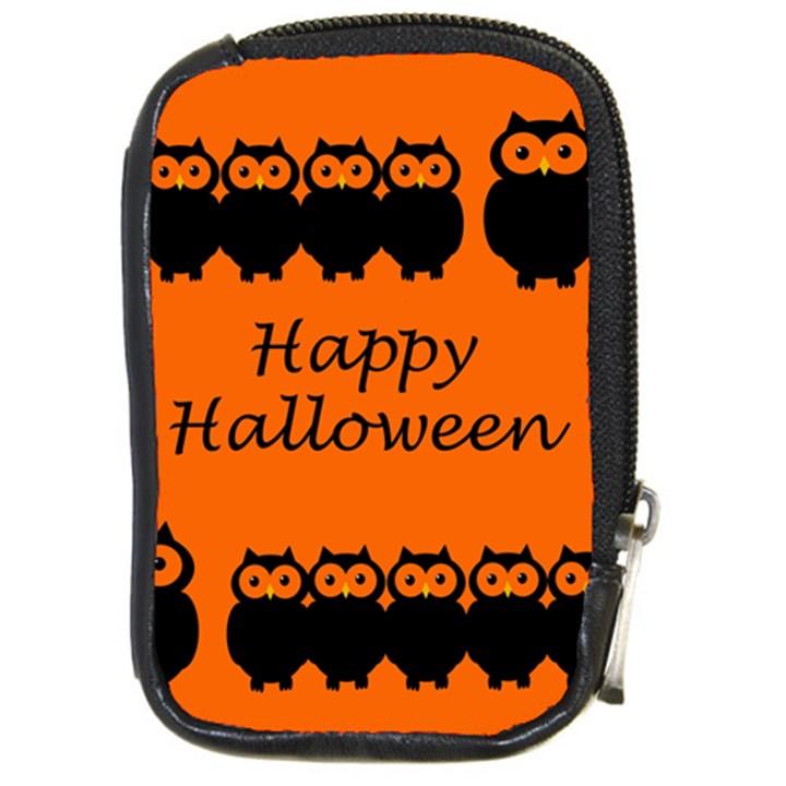 Happy Halloween - owls Compact Camera Cases