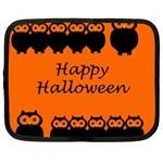 Happy Halloween - owls Netbook Case (XXL)