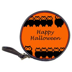 Happy Halloween - owls Classic 20-CD Wallets