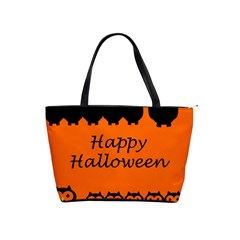 Happy Halloween   Owls Shoulder Handbags by Valentinaart