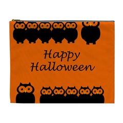 Happy Halloween - owls Cosmetic Bag (XL)