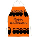Happy Halloween - owls Full Print Aprons Front
