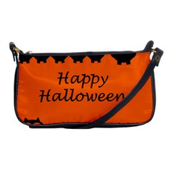 Happy Halloween   Owls Shoulder Clutch Bags by Valentinaart