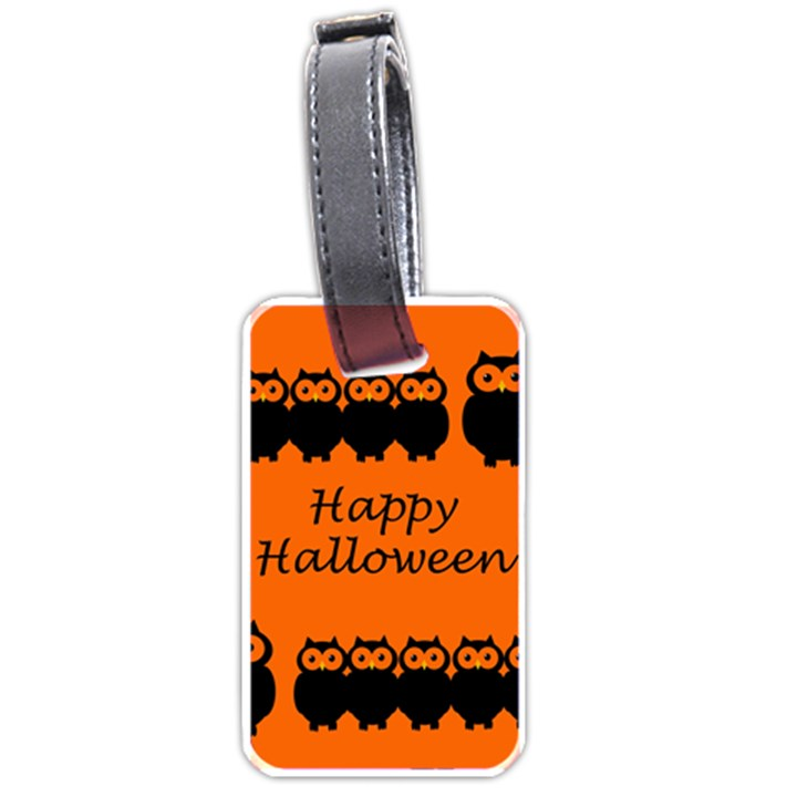 Happy Halloween - owls Luggage Tags (Two Sides)