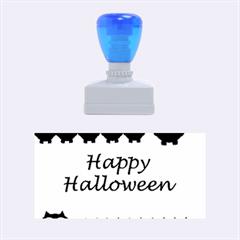 Happy Halloween   Owls Rubber Stamps (medium)