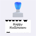 Happy Halloween - owls Rubber Stamps (Medium)  1.34 x0.71  Stamp