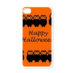 Happy Halloween - owls Apple iPhone 4 Case (White) Front