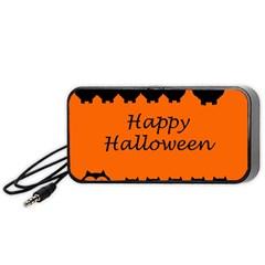 Happy Halloween - owls Portable Speaker (Black)