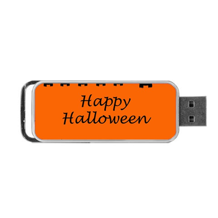 Happy Halloween - owls Portable USB Flash (One Side)