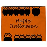 Happy Halloween - owls Cosmetic Bag (XXXL)  Front
