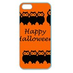 Happy Halloween - owls Apple Seamless iPhone 5 Case (Color) Front
