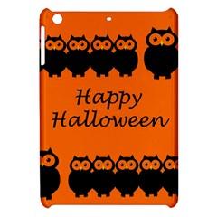 Happy Halloween - owls Apple iPad Mini Hardshell Case