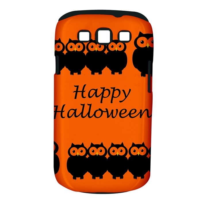 Happy Halloween - owls Samsung Galaxy S III Classic Hardshell Case (PC+Silicone)