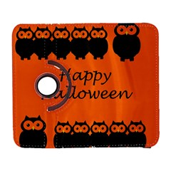 Happy Halloween   Owls Samsung Galaxy S  Iii Flip 360 Case by Valentinaart