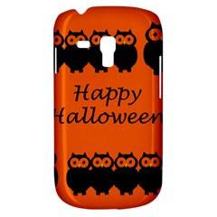 Happy Halloween   Owls Samsung Galaxy S3 Mini I8190 Hardshell Case