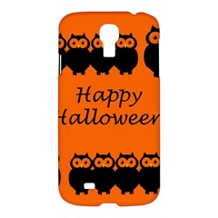 Happy Halloween   Owls Samsung Galaxy S4 I9500/i9505 Hardshell Case