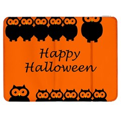 Happy Halloween   Owls Samsung Galaxy Tab 7  P1000 Flip Case