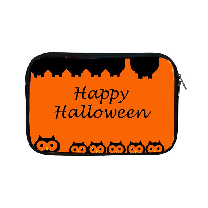 Happy Halloween - owls Apple iPad Mini Zipper Cases