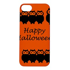 Happy Halloween   Owls Apple Iphone 5s/ Se Hardshell Case