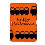Happy Halloween - owls Samsung Galaxy Tab 2 (10.1 ) P5100 Hardshell Case