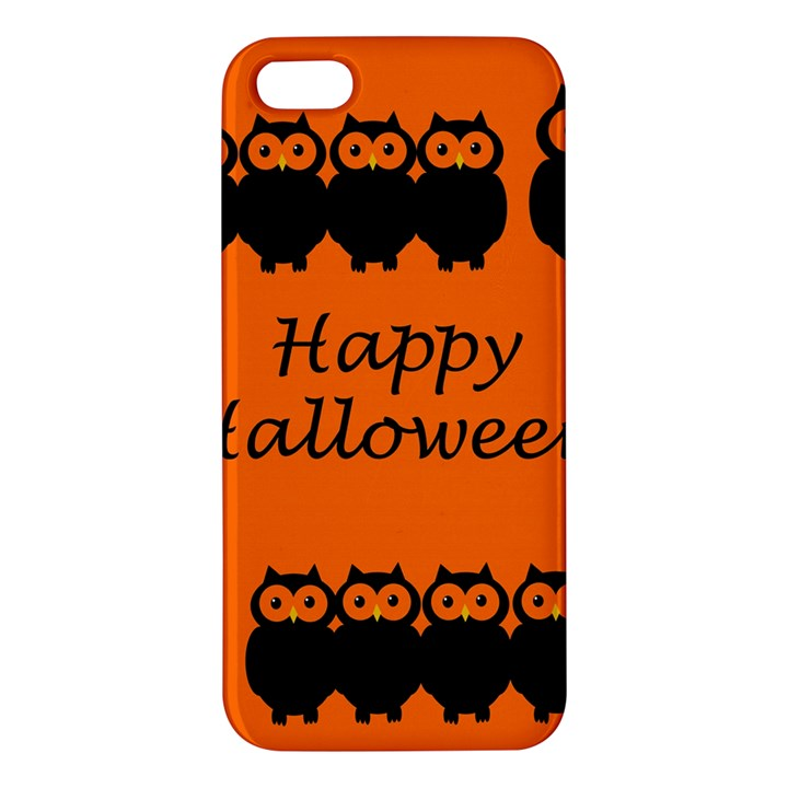 Happy Halloween - owls iPhone 5S/ SE Premium Hardshell Case