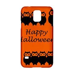Happy Halloween - owls Samsung Galaxy S5 Hardshell Case