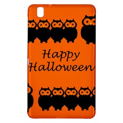 Happy Halloween   Owls Samsung Galaxy Tab Pro 8 4 Hardshell Case