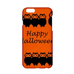 Happy Halloween   Owls Apple Iphone 6/6s Hardshell Case