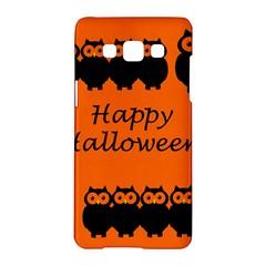 Happy Halloween - owls Samsung Galaxy A5 Hardshell Case