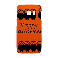 Happy Halloween   Owls Galaxy S6 Edge