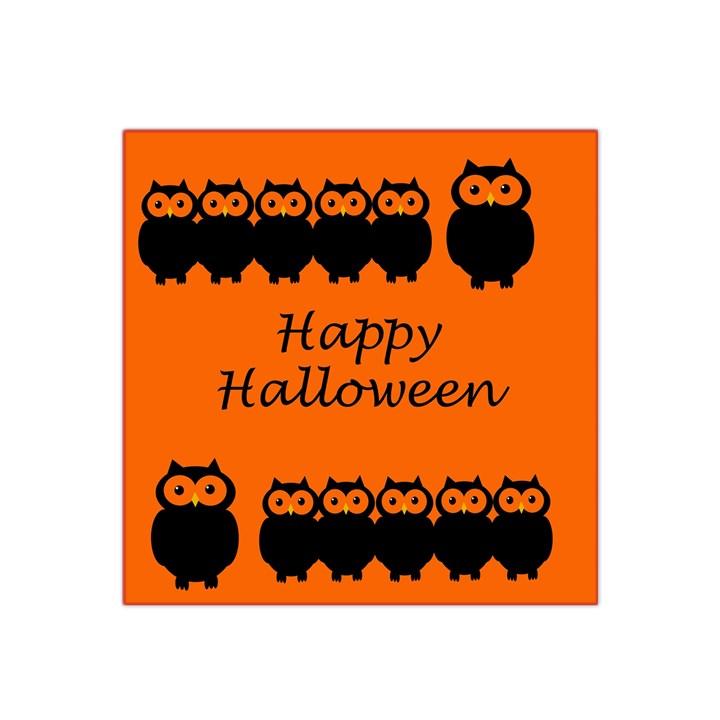 Happy Halloween - owls Satin Bandana Scarf