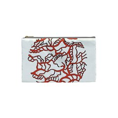 Twenty One Pilots Tear In My Heart Soysauce Remix Cosmetic Bag (small)  by Onesevenart