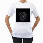 Twenty One Pilots Women s T-Shirt (White) (Two Sided)
