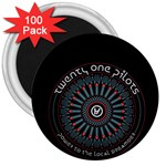 Twenty One Pilots 3  Magnets (100 pack)