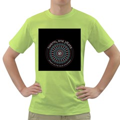 Twenty One Pilots Green T Shirt by Onesevenart