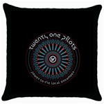 Twenty One Pilots Throw Pillow Case (Black)
