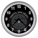 Twenty One Pilots Wall Clocks (Silver)