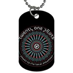 Twenty One Pilots Dog Tag (One Side)