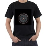 Twenty One Pilots Men s T-Shirt (Black) (Two Sided)
