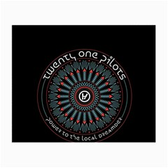 Twenty One Pilots Small Glasses Cloth by Onesevenart